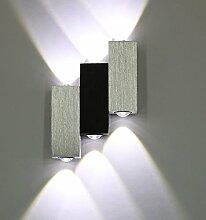 LED Wandleuchte Warmweiss 6W up down Effektlampe