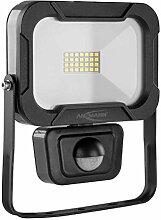 LED-Wandstrahler   mit Bewegungsmelder   10 Watt  