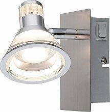 LED Wandstrahler mit Schalter 1 flammig Leselampe
