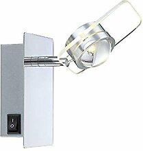LED Wandstrahler mit Schalter 1 Flammig Wand-Spot