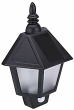 LED Wasserdichte Solar Wandleuchte Powered Outdoor