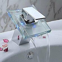 LED-Wasserfall-Armatur, 3 Farben