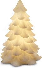 LED-Weihnachtsbaum Carla Sirius weiß, 16 cm