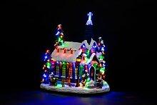 LED-Weihnachtsdeko Kirche Snowtime