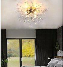 LED Wohnzimmerlampe Deckenleuchte Dimmbar Kristall
