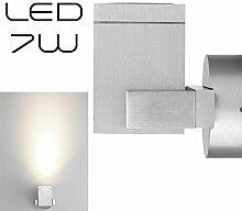 LEDANDO Hochwertige eckige LED Wandleuchte UpDown