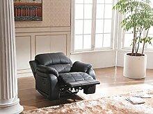 Leder Fernsehsofa Relax-Sessel Fernsehsessel mit