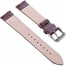 Leder Gurt Lederband Uhrenarmband Uhr Band