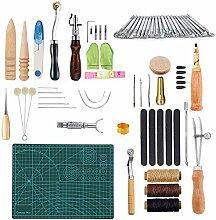 Leder Handwerk DIY Werkzeuge, Eather Craft