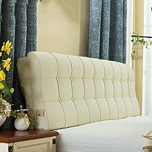 Leder Nacht Soft Paketdoppelbett Nachtkissen-weiches Bett-Kissen Rückenbettdecke für 1.2m Bett oder 1.5m Bett ( farbe : # 2 , größe : 1.5m Bed )