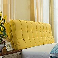 Leder Nacht Soft Paketdoppelbett Nachtkissen-weiches Bett-Kissen Rückenbettdecke für 1.2m Bett oder 1.5m Bett ( farbe : # 14 , größe : 1.2m Bed )