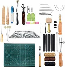 Leder Nähset, Leder Handwerk DIY Werkzeuge Leder