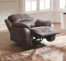 Leder Schlafsessel Relaxsessel Fernsehsessel