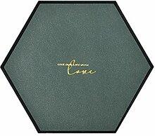 Leder Schmuck Display Tablett Geometrische Form