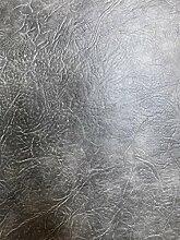 Leder Stoff Ovale Tischdecken schwer Pflicht-PVC Viny Premium Qualität, 18-Grey, Oval 140X200cm