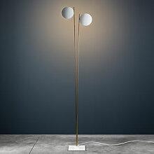 Lederam F2 Stehleuchte / LED - H 198 cm -