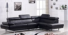 Ledergarnitur Couch Ledersofa Voll-Leder Ecksofa Sofa Garnitur 2020-RS