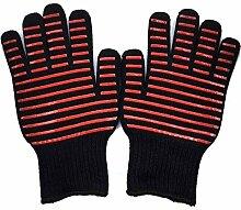 Lederschutzhandschuhe Barbecue Kochen Handschuhe