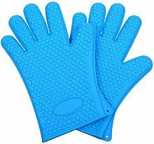 Lederschutzhandschuhe Dickes Silikon Handschuhe
