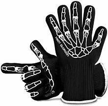 Lederschutzhandschuhe Hochtemperaturbeständige