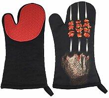 Lederschutzhandschuhe Ofen-Handschuhe/Küche