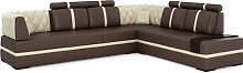 Ledersofa Sofa Couch Chesterfield LUCCA -