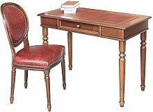 Lederstuhl mit Schreibtisch Büro-Se