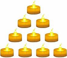 LEDGLE 24er Set Teelichter LED Kerzen Elektrische