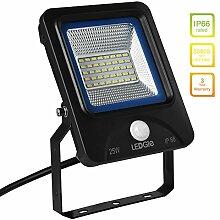 LEDGLE 25W LED Flutlicht Außenleuchte Strahler