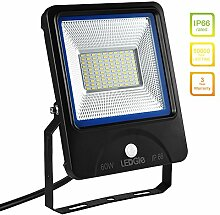 LEDGLE 60W LED Flutlicht Außenleuchte Strahler