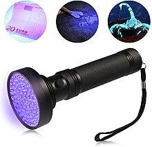 LEDGLE LED UV-Taschenlampe Pet/Urin-Finder,Fleck