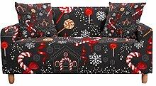 LeDiYouGou Sofabezug - Candy Pattern 3 Sitzer