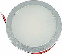 LEDLUX Mini runder LED-Einbaustrahler 5 W AC/DC 12