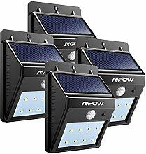 LEDMO®4er weiß Solarleuchten Solarleuchte 16 LED