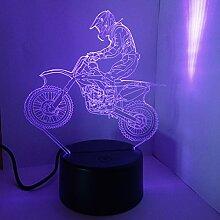 LEDMOMO 3D Lampe Nachtlicht Mood Light Tischlampen