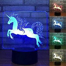 LEDMOMO 3D-Lampe Touch-Schalter Fernbedienung