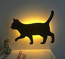 LEDMOMO Katze LED Nachtlampe Sprachsteuerung