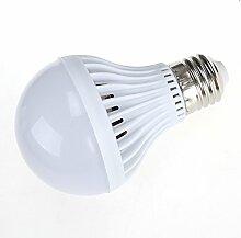 LEDMOMO LED Glühbirne E27 220V 7W Bewegungsensor