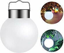 LEDMOMO LED Hängende Lampe Kugel Solarleuchte