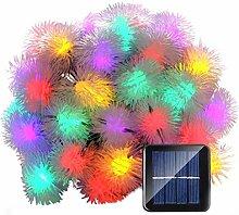 LEDMOMO – Lichterkette, 50 LED-Solarleuchten,