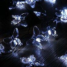 ledmomo Lichterkette Solar-Lichterkette außen