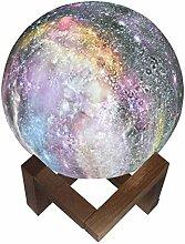 LEDMOMO Sternenhimmel Nachtlicht 3D Galaxy Mond