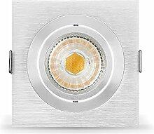 Ledox® Led Einbaustrahler Set dimmbar inkl.