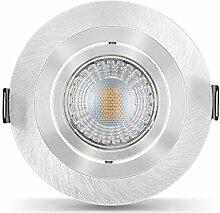 Ledox® Led Einbaustrahler Set dimmbar &