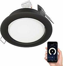 ledscom.de LED Einbaustrahler Zobe II flach