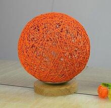 LeediooKreative und praktische Licht Dekoration Dekoration basteln Heimtextilien sepatakraw modernen minimalistischen Veranda Dekoration, 102 orange