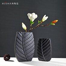Leediooe Einfachheit der Moderne Keramik Vase