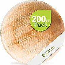 Leef® Bio Palmblattgeschirr - 200 Stück