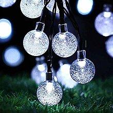 LEEFISH Solar Lichterketten, Crystal Ball Fairy