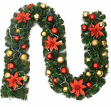 Leegoal Weihnachtsrattan 2.7m PVC